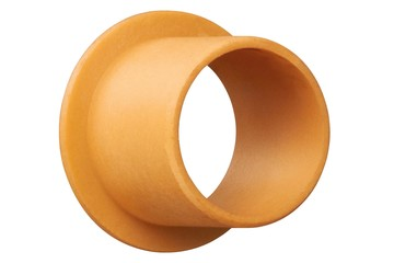 iglidur® Q2, sleeve bearing with flange, mm