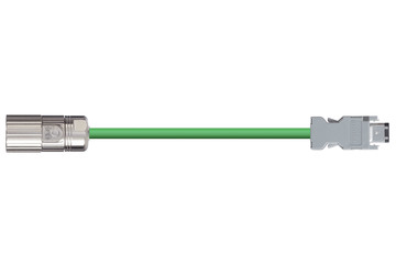 readycable® encoder cable suitable for Omron R88A-CRWA-xxxC-DE, base cable PUR 7.5 x d