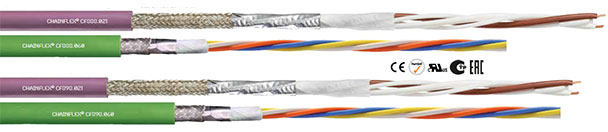 chainflex® M PVC- CAN- and Profinet cable