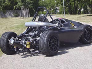 Single Seat Formula Car