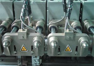 Forming, filling and sealing machine