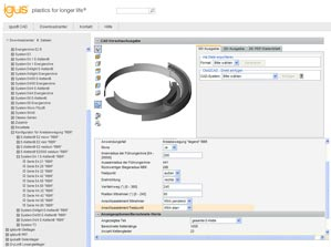 Go to the RBR configurator (3D CAD portal)