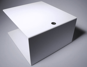Unassembled storage surface with iglidur® G plain bearing.