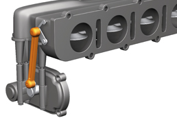igubal® double joint at the engine block