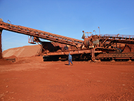 Photo of bucket wheel reclaimer