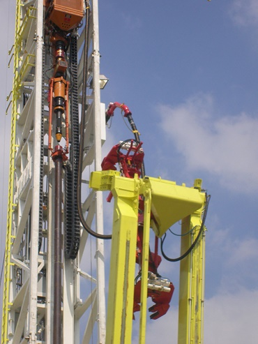 Deep drilling rig, E4.1 ESD chain, top drive capacity of 500t