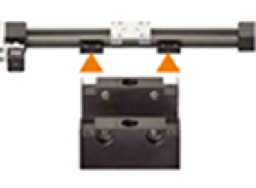 Mounting bracket for drylin® ZLW toothed belt axes