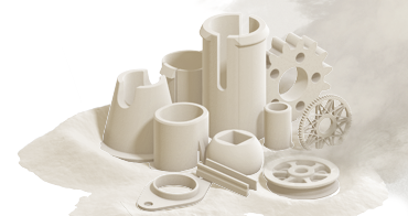 Machine components from the additive production