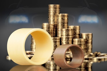 Reduce costs with iglidur® plain bearings