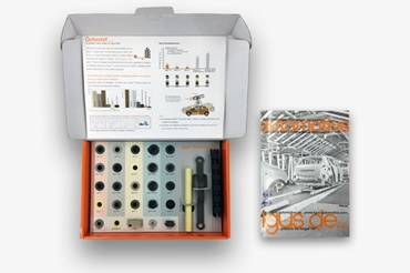 Automotive plain bearing sample box