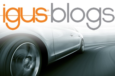 igus blog logo with car