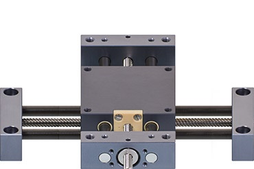 drylin SHT XY-table XY linear system with lead screw drive