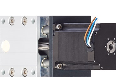 Compact, short SAWC linear guide with direct drive