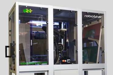 Quality control for printed circuit boards with robolink robots