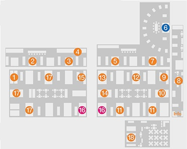 HMI 2019: floor plan of stands