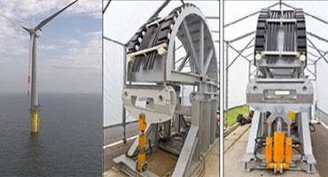 Tensile test with the offshore energy chain