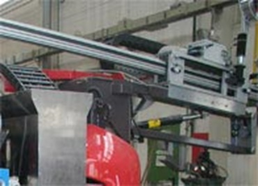 Mobile welding carrier