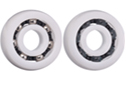 Ball bearing with spherical outer diameter - xirodur® B180, M180